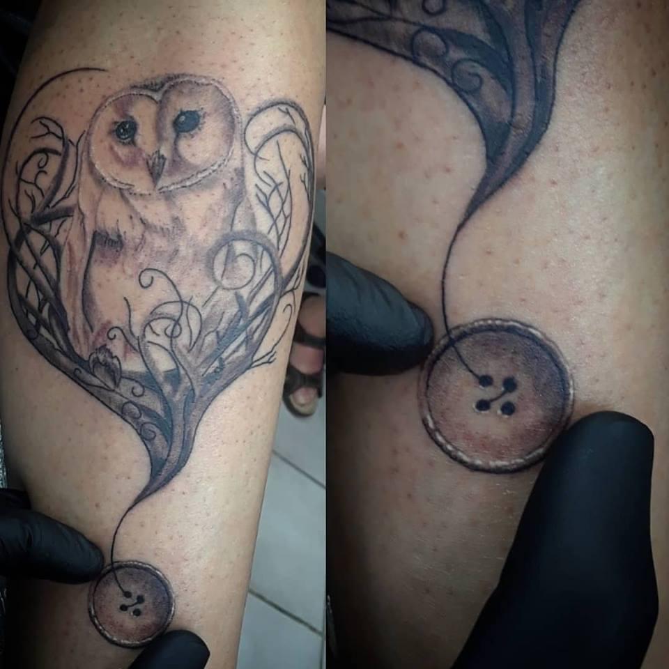 button owl